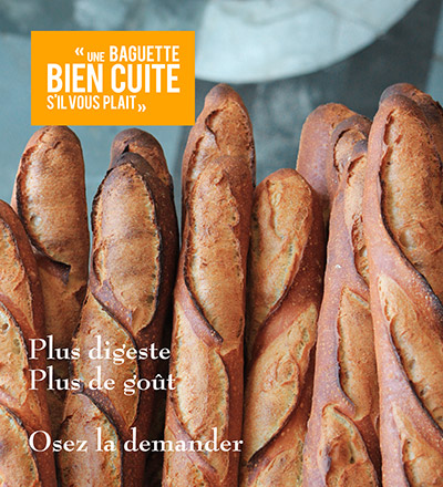 une baguette bien cuite moulins bourgeois