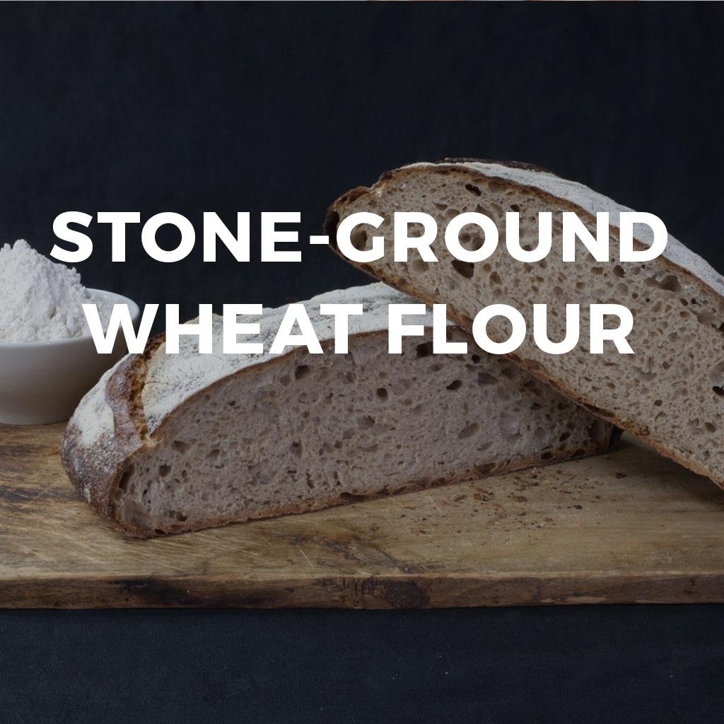 Stone-ground-wheat-flour